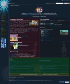 The Infosphere front page as of 15 September, 2013.png