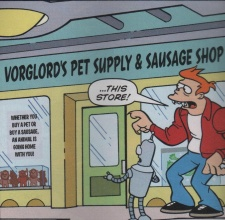 Futurama Comics Issue 61 Vorglord's Pet Supply & Sausage Shop.jpg