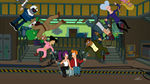 Futurama Meanwhile Leela and Fry on a Swing Made of People.jpg