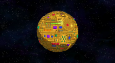 Remote-controlled solid gold Death Star.png