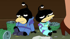 Futurama Game of Tones Nibbler and Digby.jpg